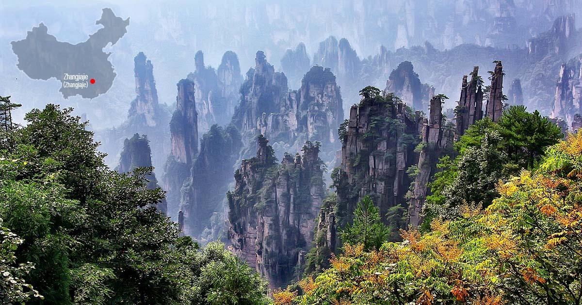 zhangjiajie parc