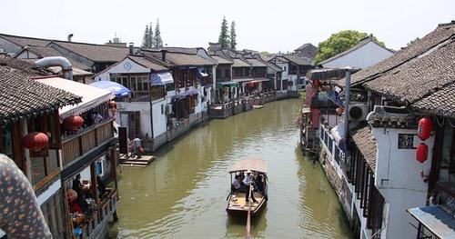 zhujiajiajiao ville de l'eau